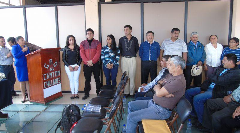 Conformación de los miembros de la Asamblea Local Ciudadana.
